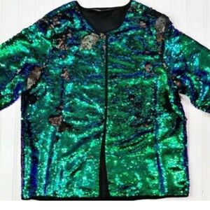 NWT lularoe mermaid stella bolero jacket